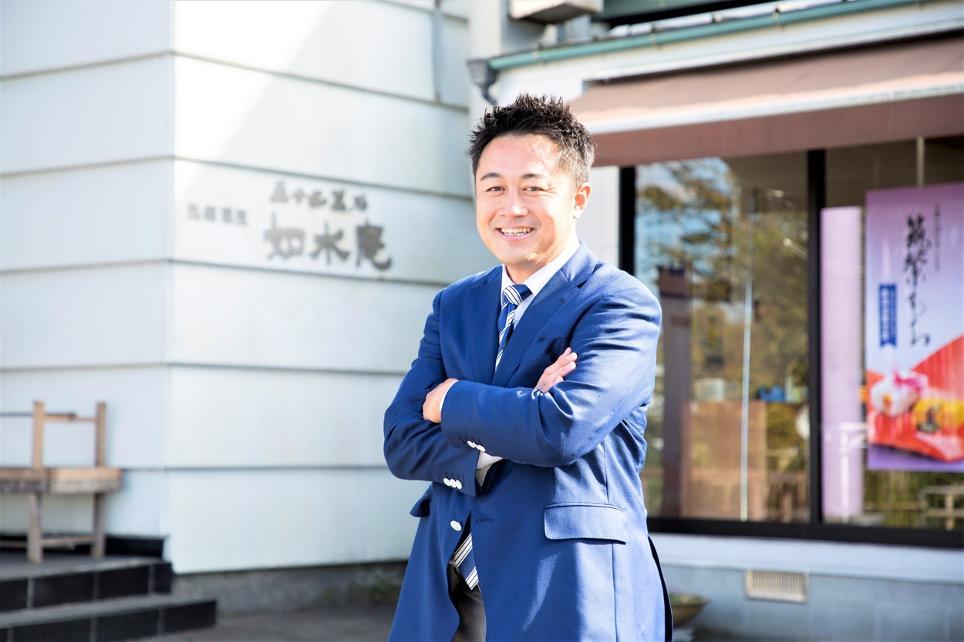 歴史ある和菓子の銘店「如水庵」。無形の価値を表に出し、新たな魅力を発信する