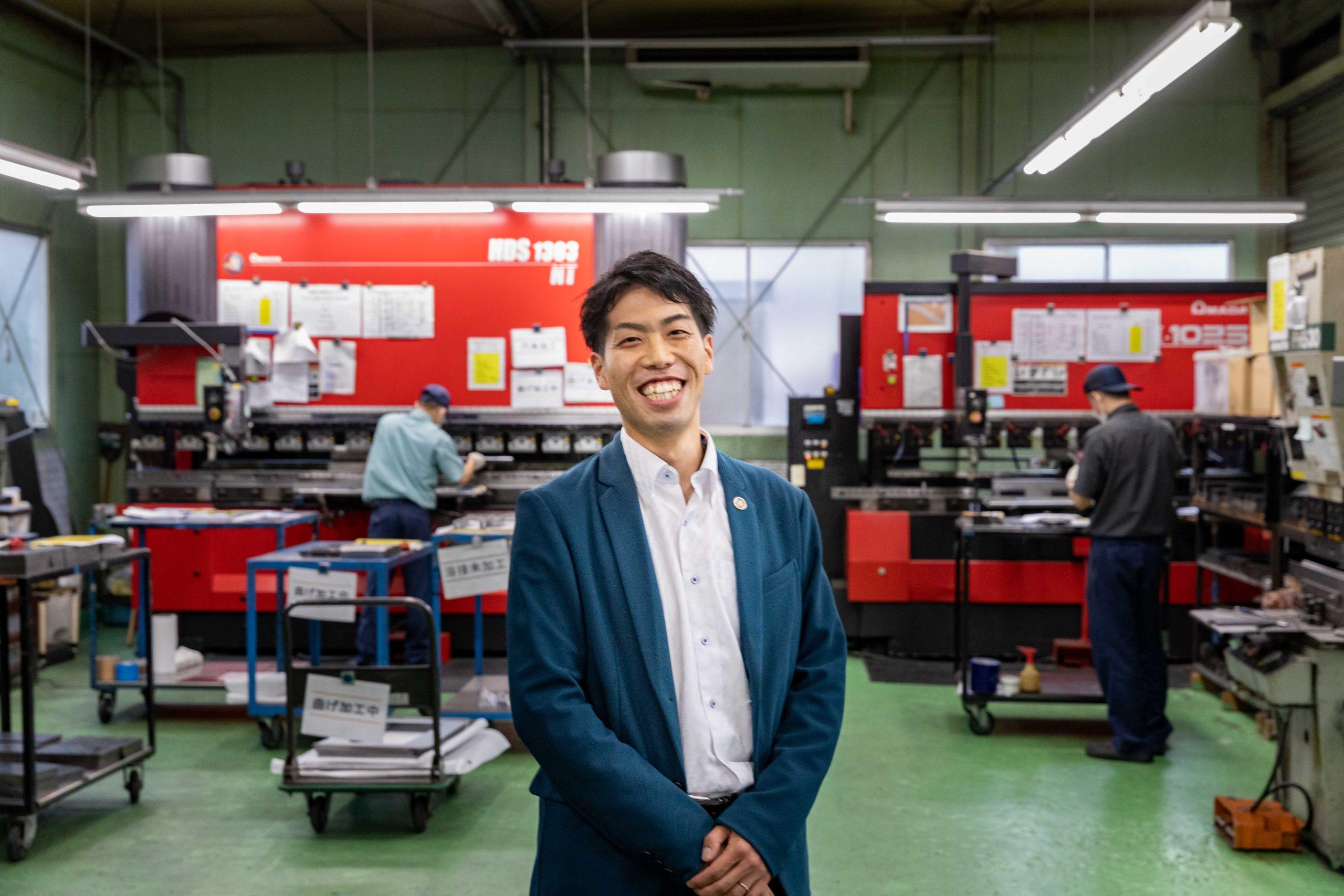 「町工場」をかっこいい集団に。人の魅力で創業56年の会社に勝負をかける3代目