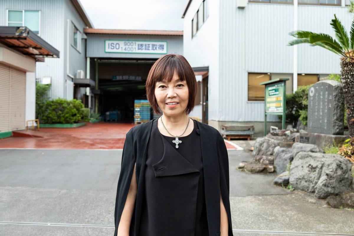 美容業界から工業のど真ん中へ。日本のものづくりを残す!女性社長の覚悟
