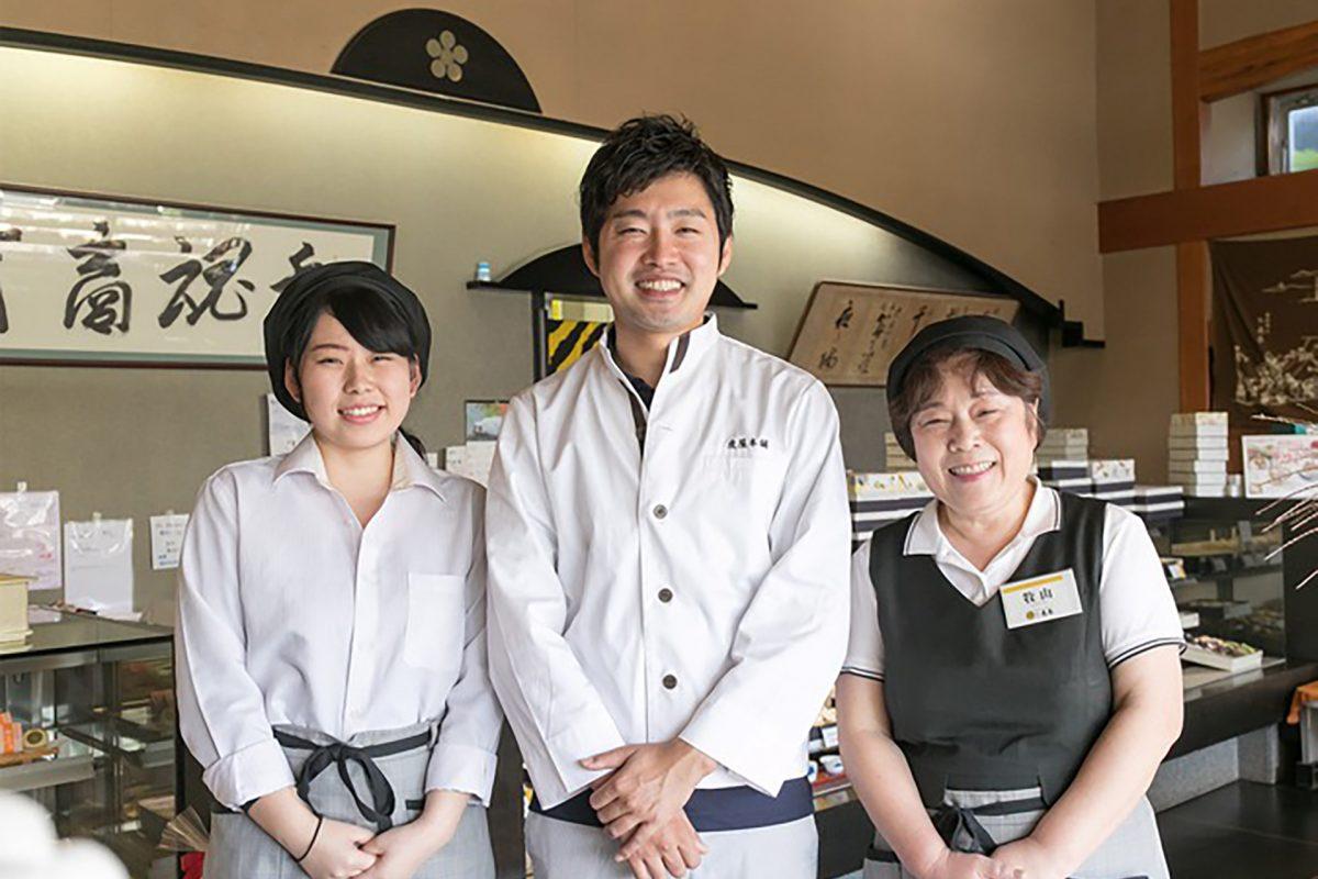 新たな「瀬戸内ブランド」を目指し、和菓子を通じて文化を紡ぐ商いへ。新しい時代の地域共存型経営に挑戦します。